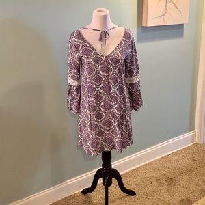 Umgee Patterned Dress